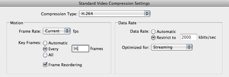 Tuesday Tip #3 – Compression: Keyframes are your Friends | OneRiver