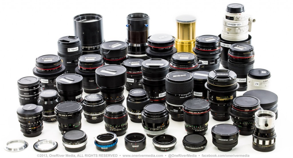 We've run our collection of lenses through the paces; see some of Marco's findings at the NAB presentation this Saturday.