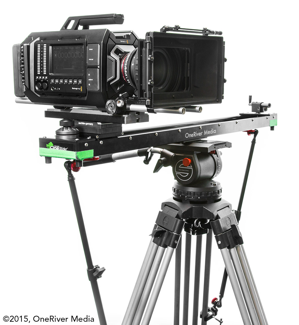 Konova Tripod Stability Arm Cineslider URSA Side