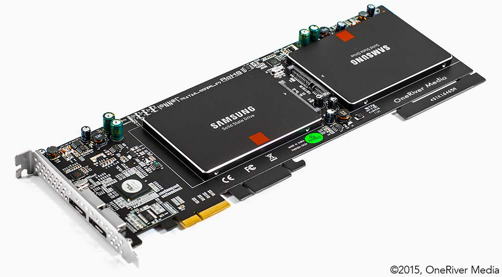 Sonnet SSD PCIe Samsung 840 Pro SSD