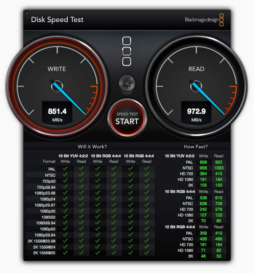 bmd disk speed test