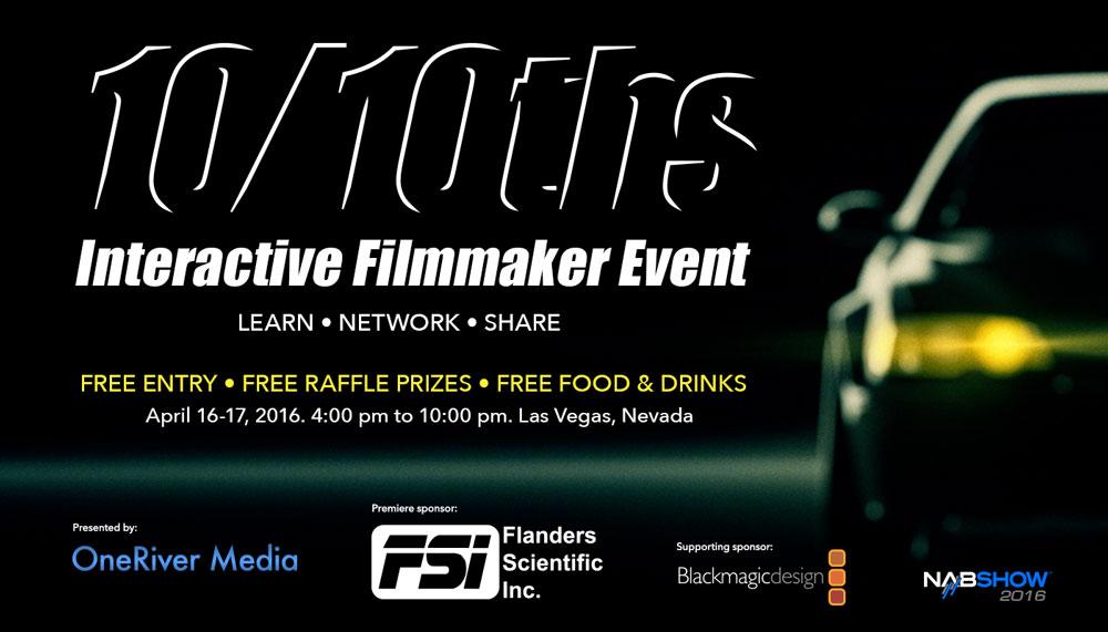 1010ths Free Interactive Filmmaker Event