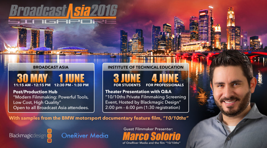 Presentation Events in Singapore May 31 – June 4