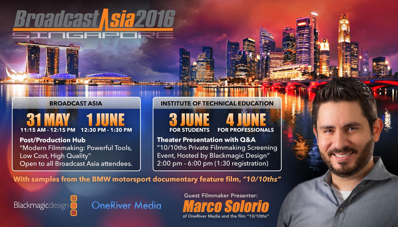 Broadcast Asia Marco Solorio