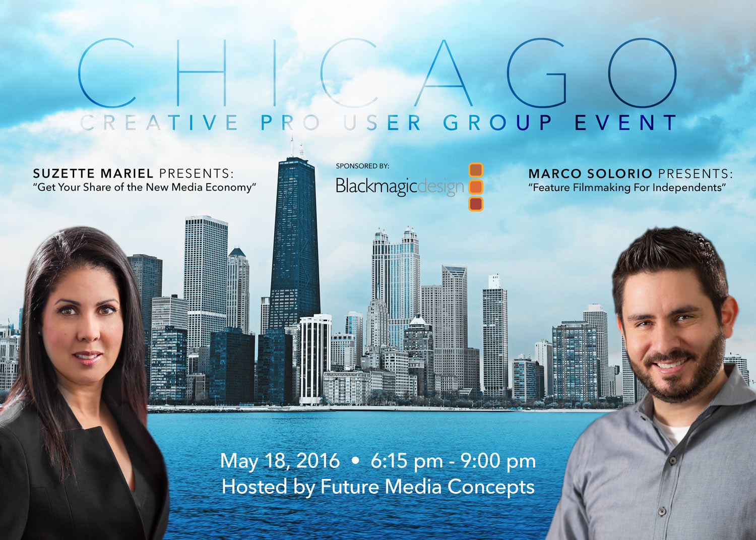 ChiCPUG Event with Marco Solorio & Suzette Mariel