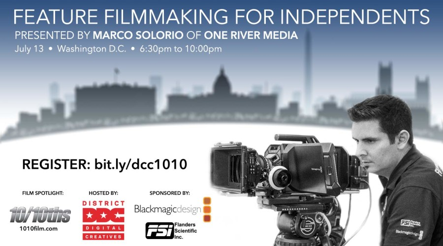 Feature Filmmaking For Independents in Washington D.C.