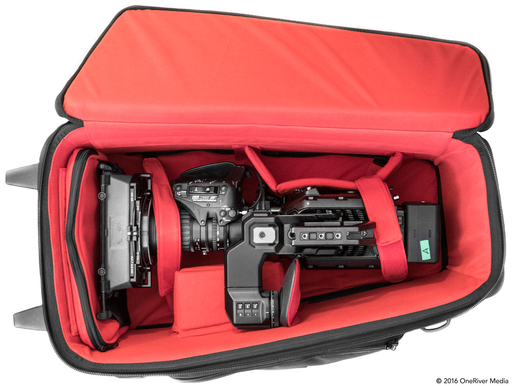 FSI CAM3 Case with URSA Mini 4.6K ENG setup