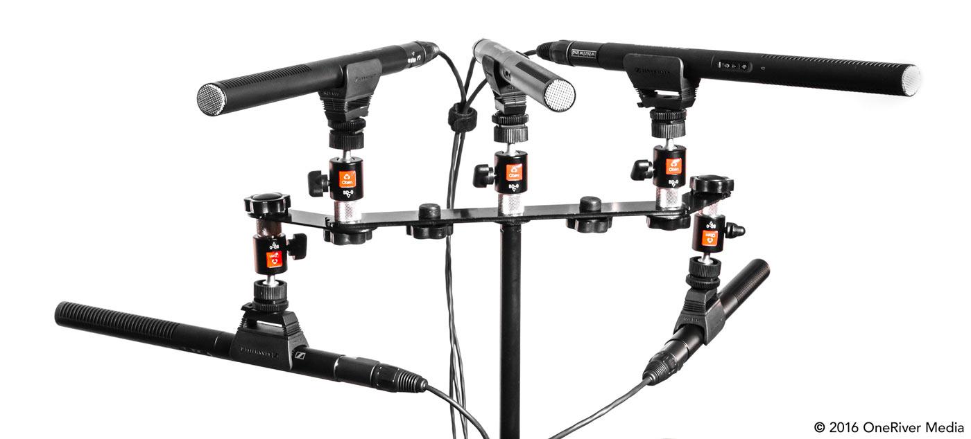 Sennheiser MKE 600 microphone setup