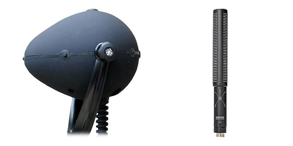 Holophone H2-Pro and Sanken WMS-5 microphones