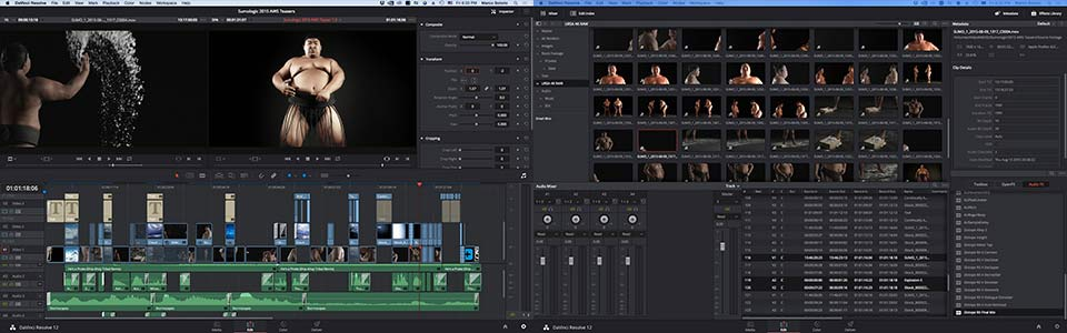 The 2015 Sumo Logic marketing campaign series was the very first commercial project we threw at DaVinci Resolve (version 12 beta) as a dedicated NLE., complete with 4K HFR RAW footage. We never encountered a single crash or hiccup and was, by far, a much more faster workflow than traditional NLE methods... even to this day, over a year later.