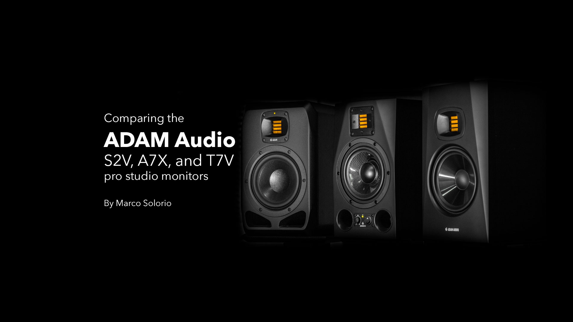 ADAM Audio Article Header