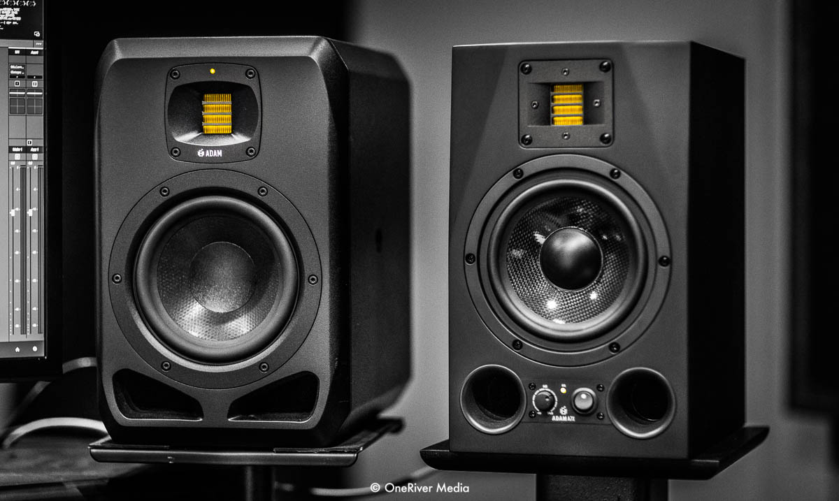 ADAM Audio S2V and A7X
