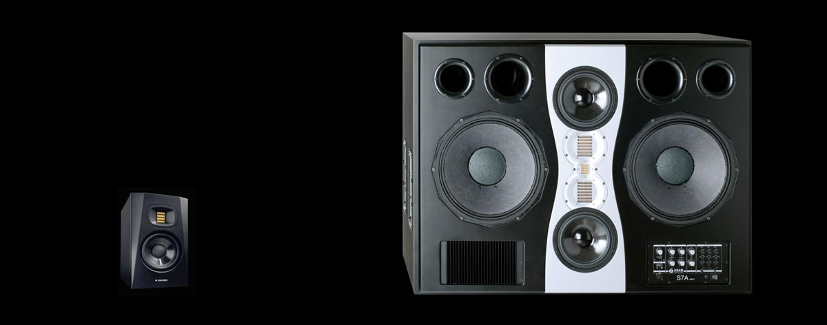ADAM Audio T5V and S7A Mk II