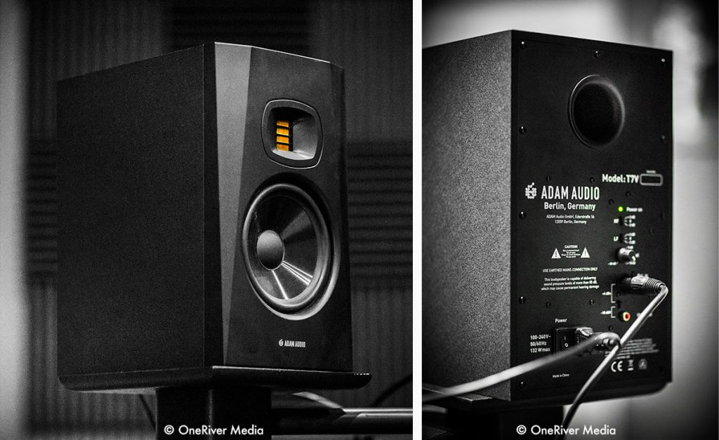 ADAM Audio T7V Front and Rear