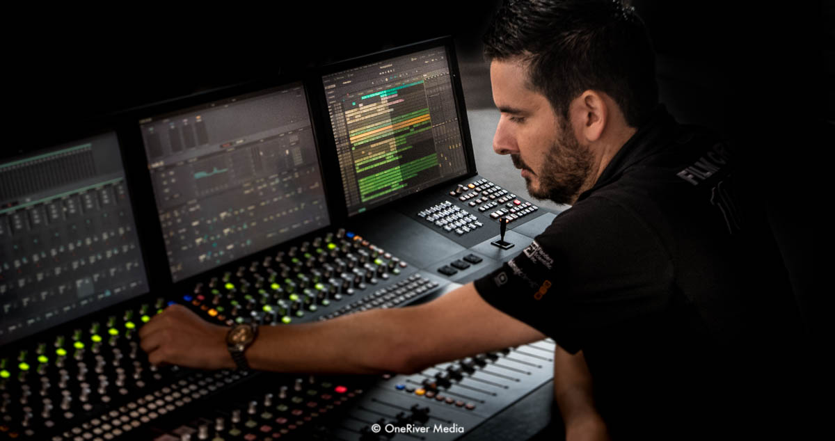 Marco Solorio on the Fairlight Console
