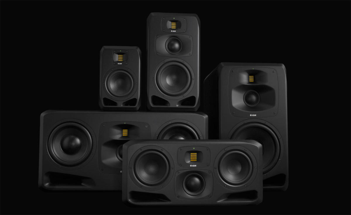 ADAM Audio S Series Monitors