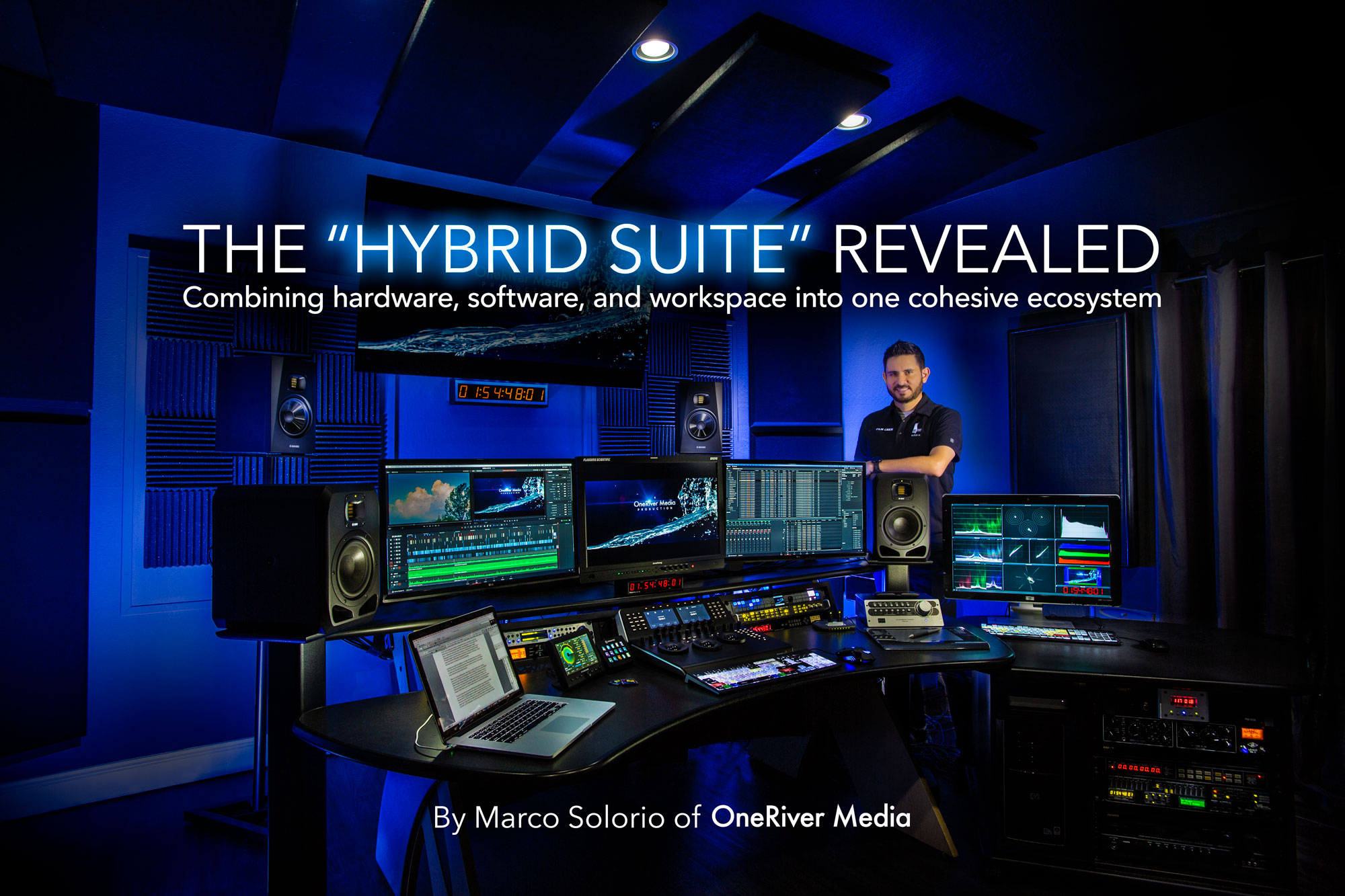 Marco Solorio of OneRiver Media in the Hybrid Suite